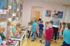 27.06.19 Экскурсия по выставке  Куклы советского периода