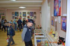 Выставка Т.В. Гаркуши Лики Байкала и не только